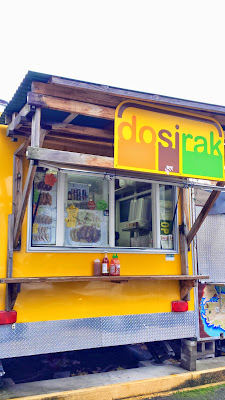 Dosirak Food Cart, specializing in Teriyaki Chicken at its location of SW 4th and College