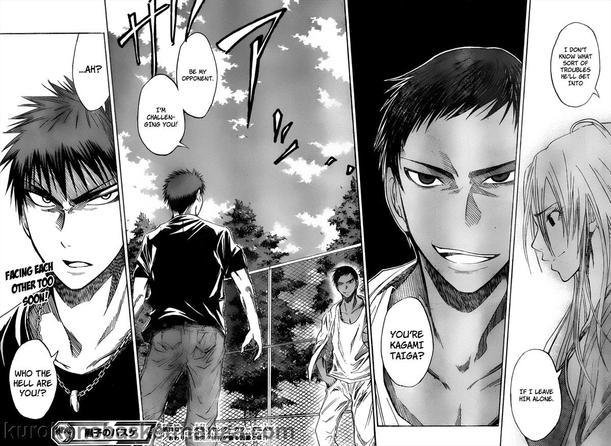 Kuroko no Basket Manga Chapter 38 - Image 18-19
