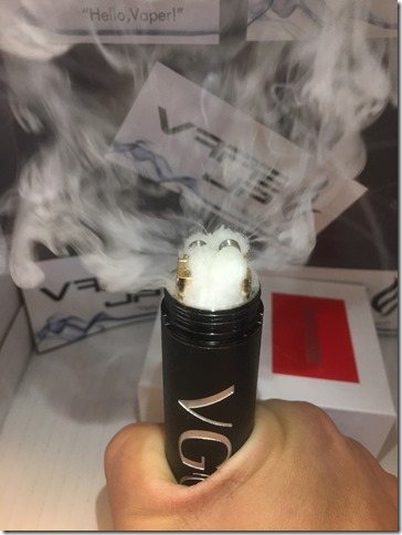 IMG 9366 thumb1 - 【爆煙スコンカー対応RDA】DIGIFLAVOR DROP RDA(デジフレーバー ドロップアールディーエー)レビュー~爆煙だけど濃厚フレーバー<*`∀´*>編~【電子タバコ/VAPE/ドリッパー】