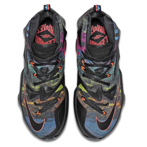 Release Redminer Nike LeBron XIII Akronite Philosophy