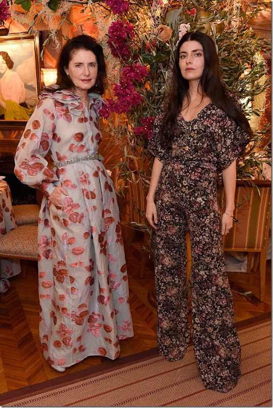 attends the Luisa Beccaria and Robin Birley event celebrating Sicilian lifestyle, music and fashion at 'Upstairs', at 5 Hertford Street on March 14, 2017 in London, England.