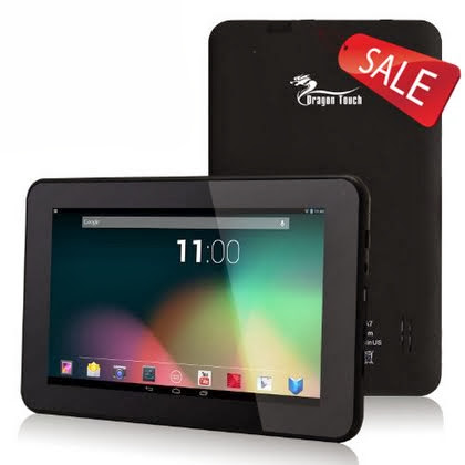 Dragon Touch® A7 7'' Google Android 4.2 Jelly Bean Dual Core Tablet