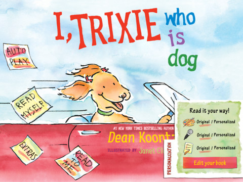 I, Trixie Who is Dog