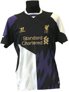 Liverpool Jersey Away Third 2014