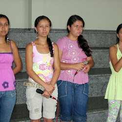 Manoela e meninas de Ponte Alta