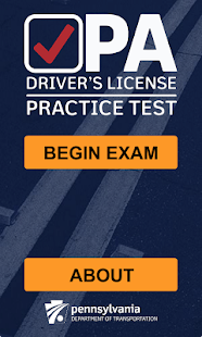 PA Driver's Practice Test- screenshot thumbnail