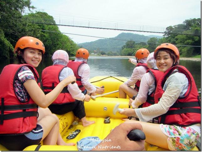 馬來西亞沙巴 九如河泛舟 溜索 (39)