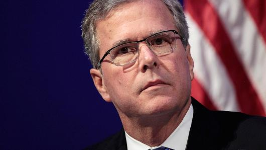 Jeb Bush voices sour grapes about Trump