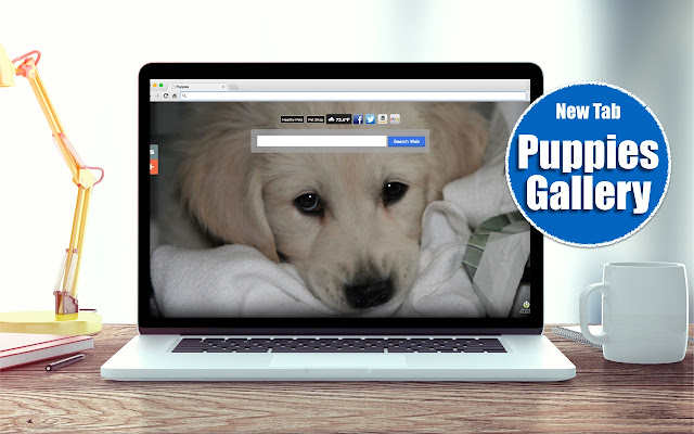*NEW* Puppies HD Wallpapers New Tab Theme