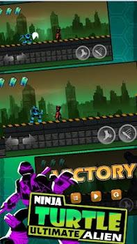 Shadow Turtles Ninja vs Alien