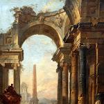 Jean Jérôme Nicolas Servandoni - Ruines romaines