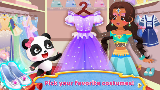 Little Panda: Princess Makeup - screenshot