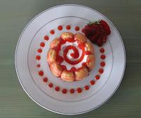 Charlottines aux fraises - recettes indexée dans les Desserts