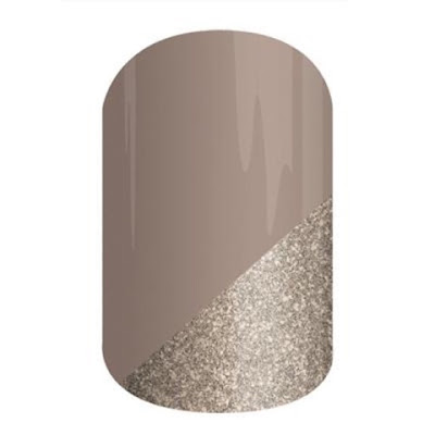 Champagne Toast - Beautiful Apply Yourself Nail Wraps - Nude and Gold Nail Art