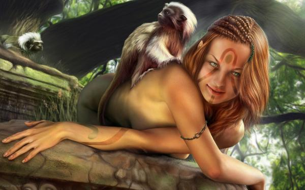 Charming Angel Woman, Magic Beauties 4