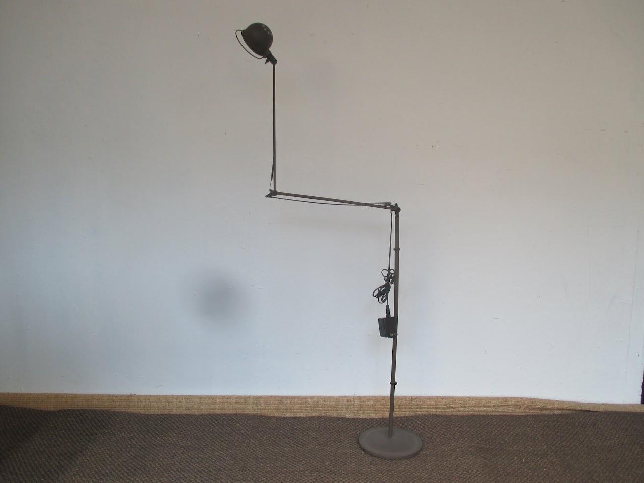 industrial style floor lamp shophousingworks. Black Bedroom Furniture Sets. Home Design Ideas