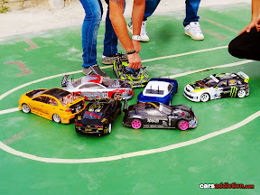 Miniature 1/10 RC Drift Cars