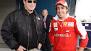 John Travolta & Fernando Alonso