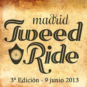 Tweed Ride Madrid 2013, el domingo 9 de junio