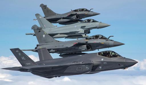 القوى الجوية لدول حلف الناتو، أنواع الطائرات بالصور