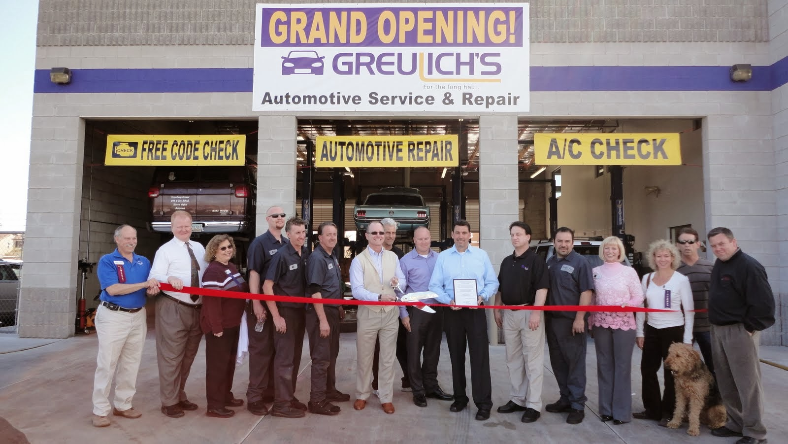 Greulich's Automotive Services has been providing a complete range of automotive services throughout the Phoenix metro area since 1977.  They recently opened two new service facilities in the Tucson area and look forward to creating jobs and providing honest and affordable service for Tucsonans.