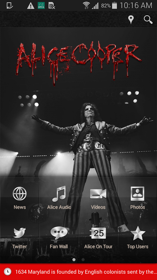 Nights with Alice Cooper- screenshot