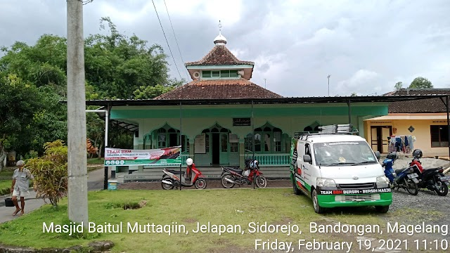 Masjid Baitul Muttaqiin Jelapan Sidorejo Bandongan