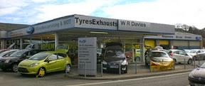 WR Davies garages sold