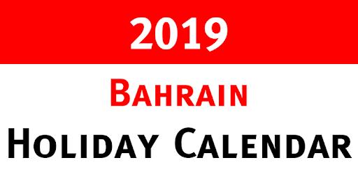 Bahrain Holidays and Observances Calendar 2019