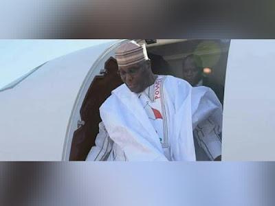 BREAKING: Next President Of Nigeria, Atiku Abubakar, Arrives Dubai, Set To Form His Cabinet