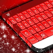 Red 3D Keyboard Theme