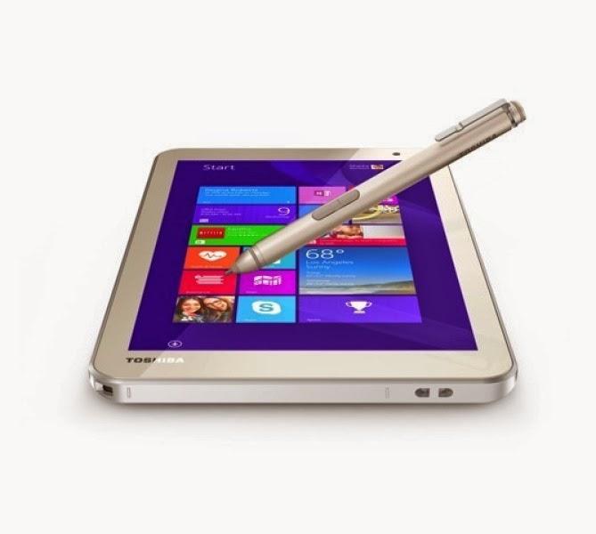 Tablet giá rẻ của Toshiba đi kèm bút cảm ứng Wacom - 59323