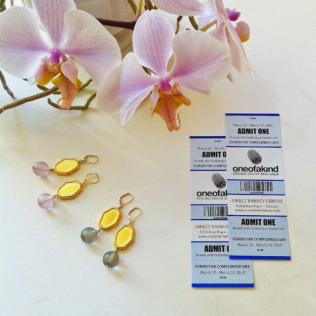 win one of a kind show tickets and a pair of earrings!