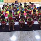 YOGA DAY CELEBRATION AT WITTY WORLD, BANGUR NAGAR (2017-18)
