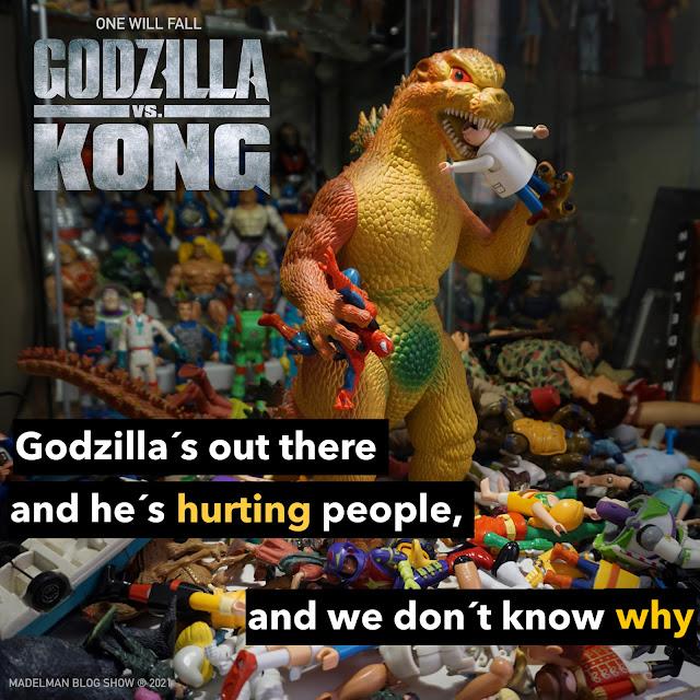 Godzilla: One will fall