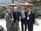 Con el Dr. Jorge Uribe Roldan, Decano de Relaciones Internacionales de la Universidad Jorge Tadeo Lozano