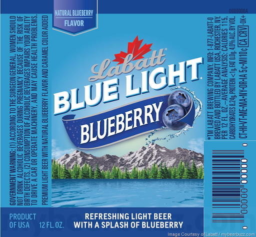Labatt Adding New Blue Light Blueberry