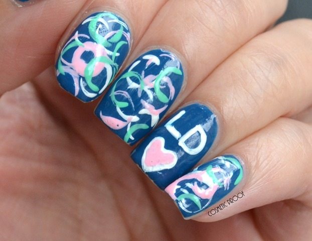 London Drugs Beauty Event Straw Nail Art (2)