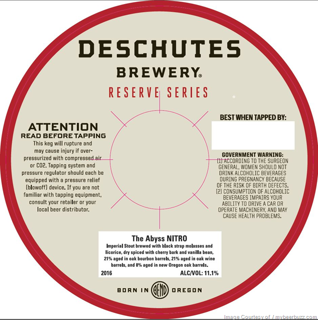Deschutes Reserve Series The Abyss Nitro