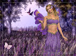 Lavendar Fairy Wallpaper Fairies