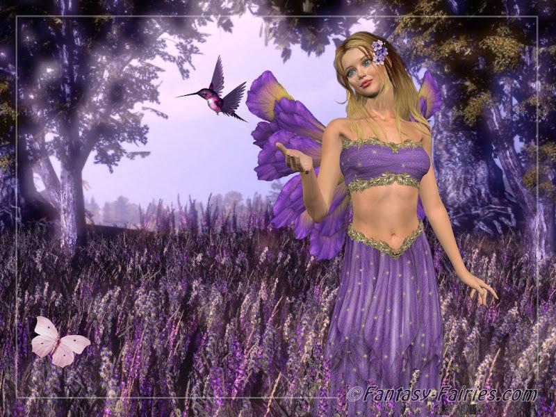 Lavendar Fairy Wallpaper Fairies, Fairies Girls