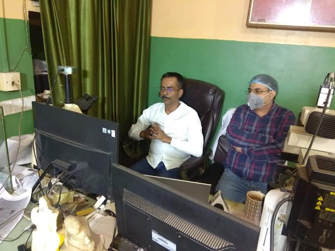सिपला व डॉ प्रभात रंजन डायग्नोस्टिक एंड रिसर्च सेंटर पटना के सौजन्य से राष्ट्रीय लेवल का कोविड-19 बचाव सीएमई का किया गया आयोजन