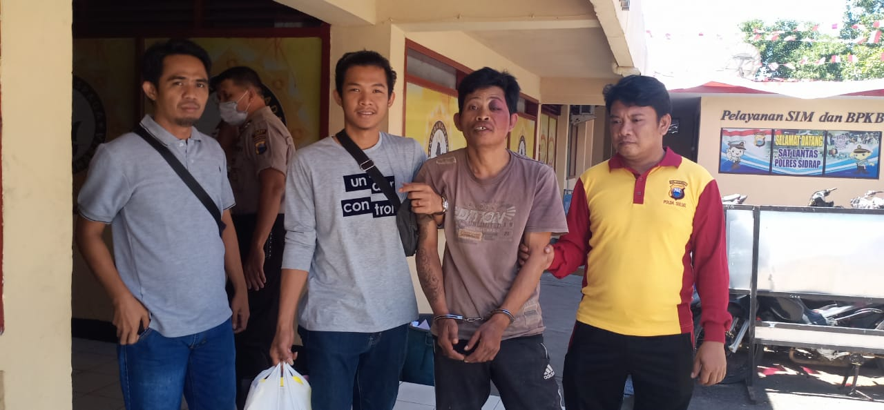 Beraksi Dengan Pecahkan Kaca Mobil, Residivis di Sidrap Dihadiahi Timah Panas