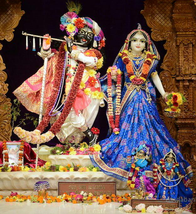 ISKCON GEV (Wada) Deity Darshan 14 Jan 2016 (3)