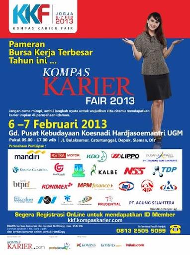 Kompas Karier Fair Yogyakarta 2013