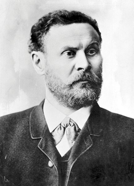 Original caption: Portrait of Otto Lilienthal --- Image by © Bettmann/CORBIS