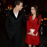 WWW.ENTSIMAGES.COM -    Richard Fleeshman and  Samantha Barks     English National Ballet's Nutcracker reception at The London Coliseum December 12thy 2013                                        Photo Mobis Photos/OIC 0203 174 1069