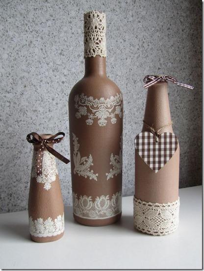decorar botellas navidad todonavidad info (5)