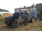 Pete and Steve, fellow overlanders en-route to Cape Town. (Kim and Tim's, Lake Tana)