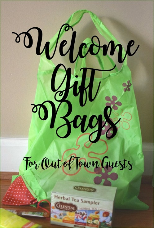 Welcome Gift Bags For Out of Town Guests